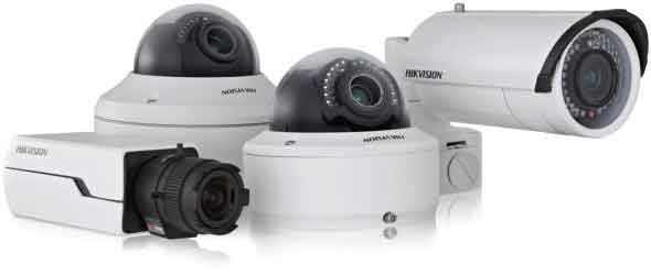 An image showing Hikvision Domestic Cameras installed by Assegai Security Systems.