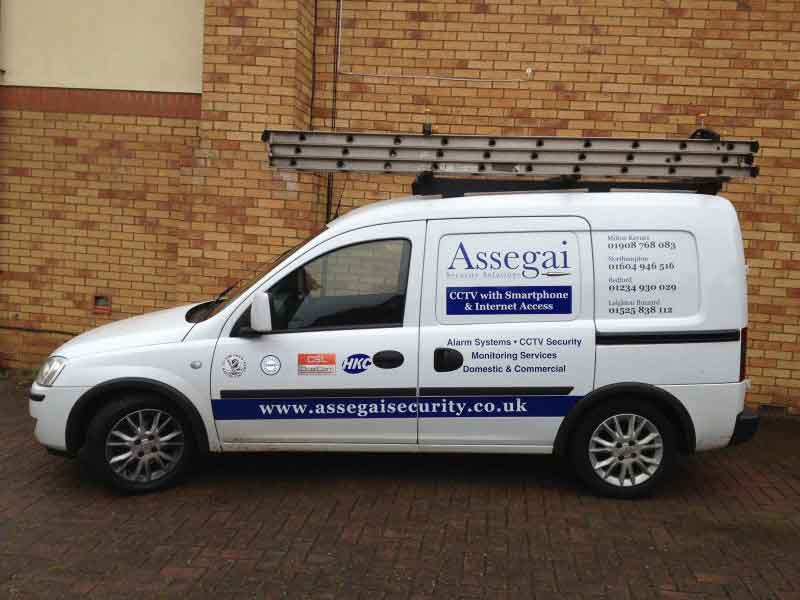 An image showing an Assegai Security van.